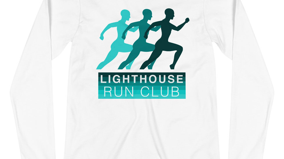 Unisex Long Sleeve Tee - Lighthouse Run Club - Buy one to give one