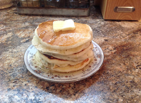 Old Fashion Buttermilk Pancakes