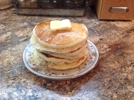 Old Fashion Buttermilk Pancakes