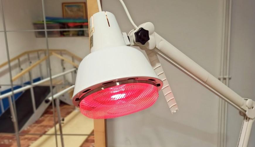 Termoteràpia. Llum infraroig