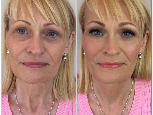 7 tips on makeup for women over 50.