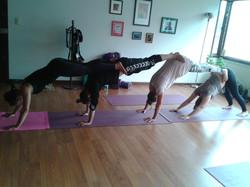 Yoga para empresas.Bienestar.