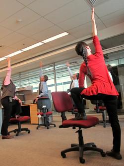 Yoga para empresas.
