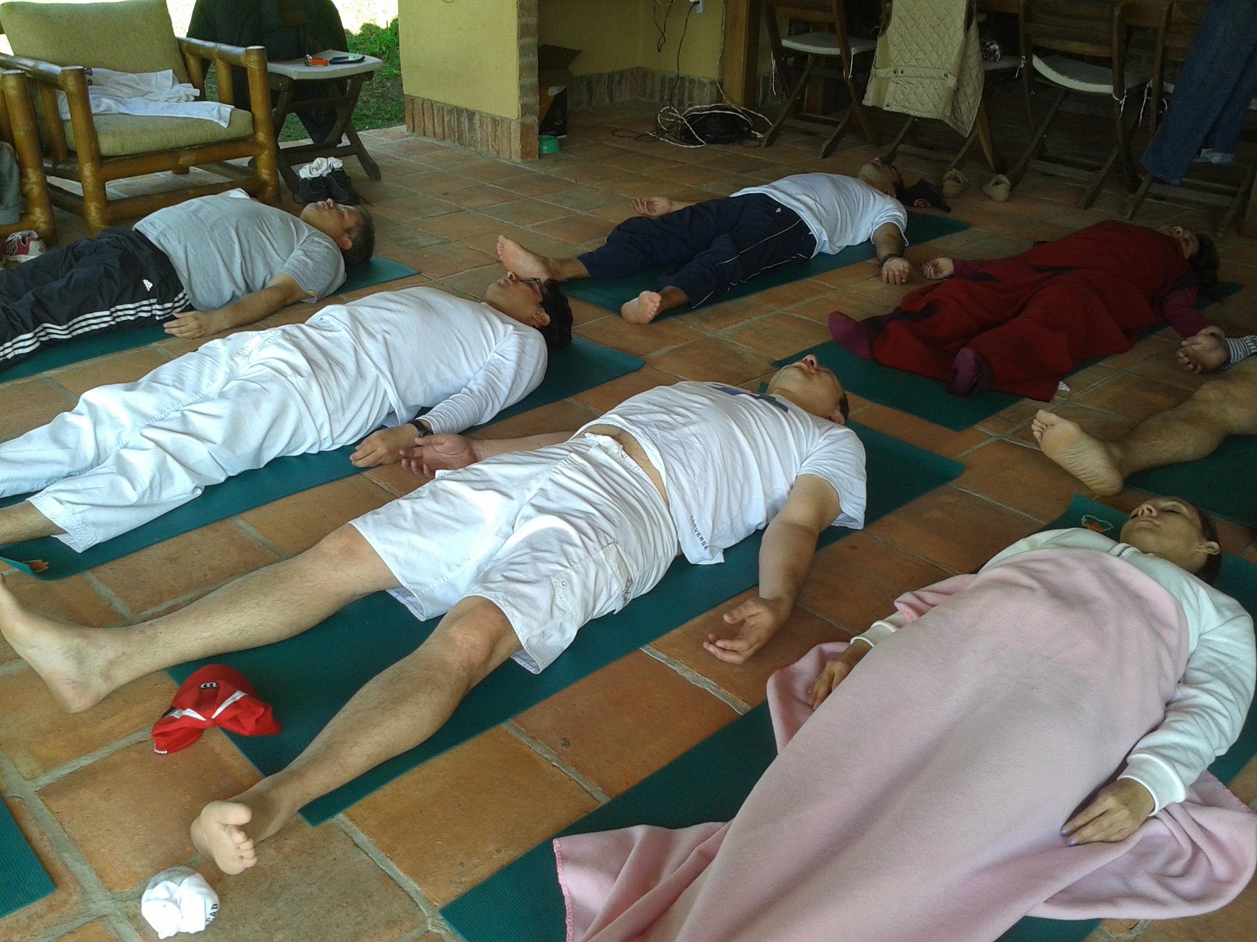 Yoga y manejo del estrés.