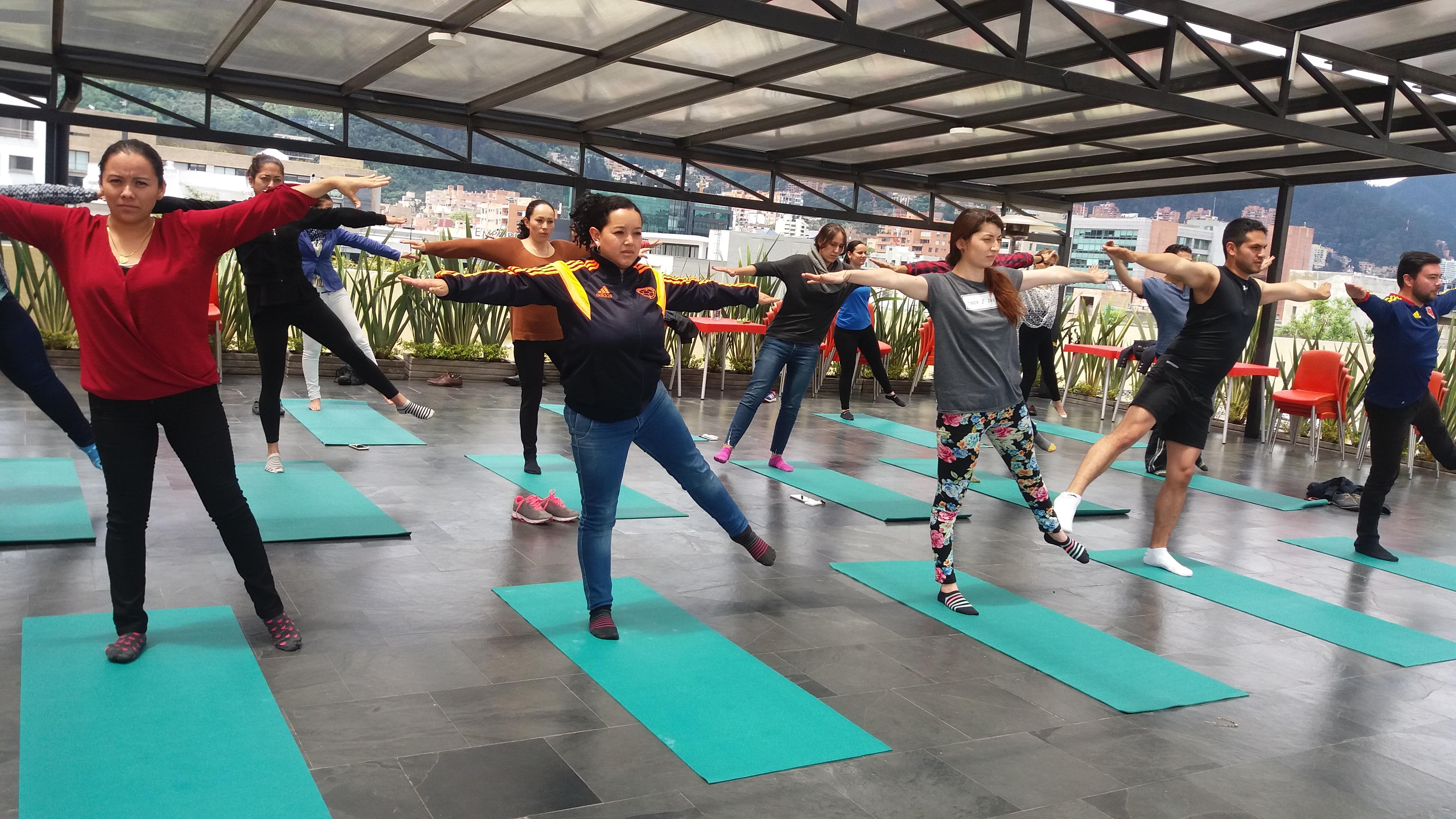 Yoga y movimientos conscientes.