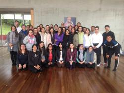 Grupo día de práctica Mindfulness.