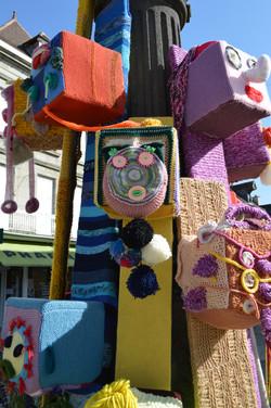 Les masques de la Place Courtaud