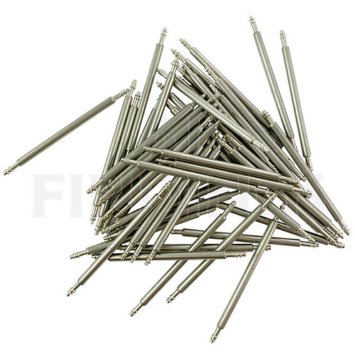 100x Assorted 6-40mm Watch Strap Spring Bar Links
