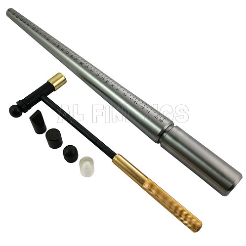 A-Z Steel Ring Mandrel & 6 Part Hammer Set