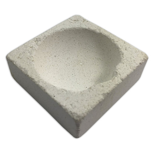 "Scorifier 2"" Square Melting Crucible Dish"