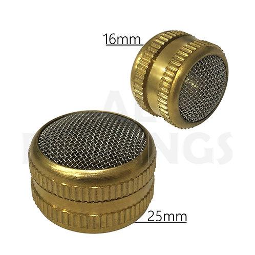 Brass Ultrasonic Cleaning Basket : 16mm & 25mm Set