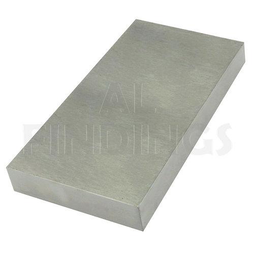 "6""x4""x 3/4"" Extra Large Steel Bench Block Anvil"