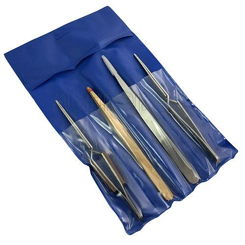 4 Soldering Tweezers Set