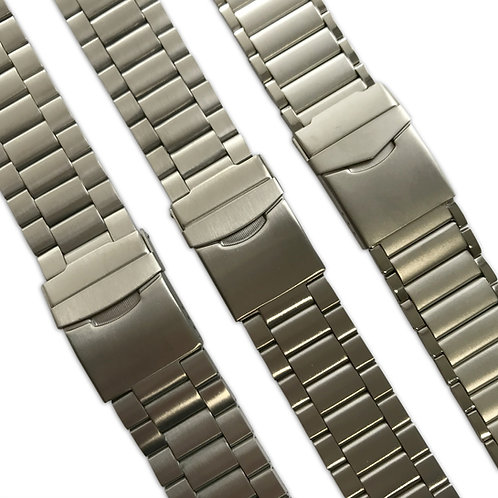 Stainless Steel Watch Strap Range : Various Designs