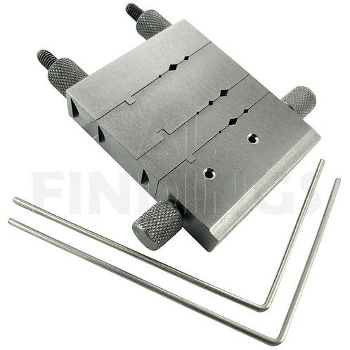 Large 5 Way Miter Filing Jig : 45º, 90º, 135º