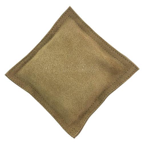 "6"" Double Stitched Leather Sandbag (Square)"