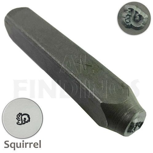 6mm Squirrel Design Stamp