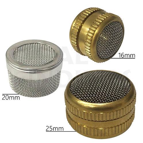Brass/Steel Ultrasonic Basket Set : 16mm 25mm 20mm