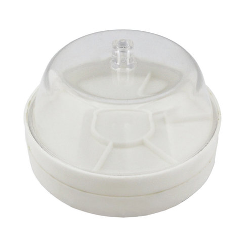 Plastic Dust Cover : 6 Compartments