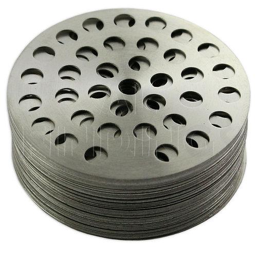 Diamond Sieve Sorting Set of 42 Plates - 50mm