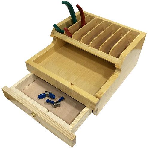 Wooden Plier & Storage Rack (A)