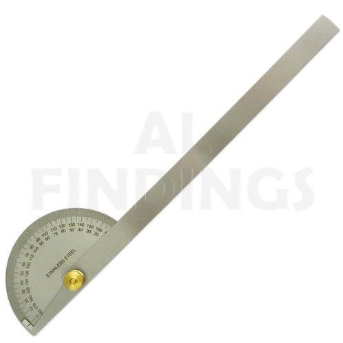 """12"""" 0-180 Degree Protractor Square Rule Gauge"""