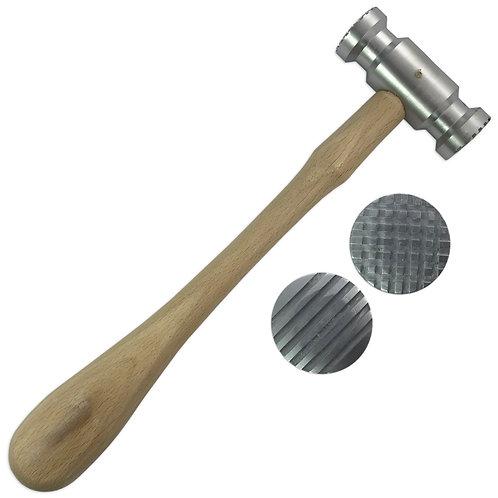Checkered / Striped Textured Hammer