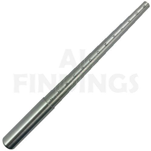 UK & 1-30 Steel Ring Mandrel Stepped