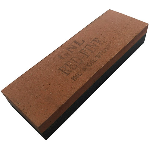 "6"" India Sharpening Stone - Course & Fine"