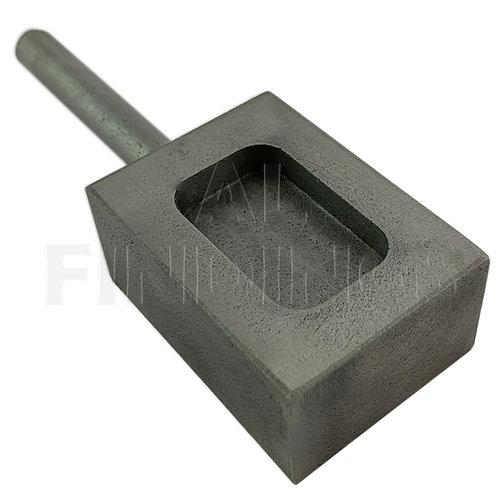 100gms Cast Iron Ingot Mould
