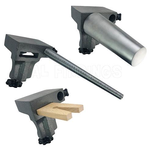 Combination Bench Pin & Anvil/ Round Bangle/ Ring Mandrel Set