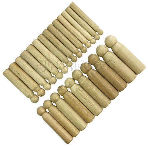 Set of 24 Wooden Doming Punches