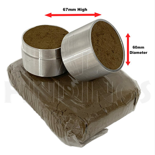 60mm Traditional Sand Casting Flask & 1kg Sand (No Hole)