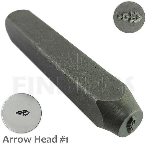 6mm Arrow Head #1 Design Stamp