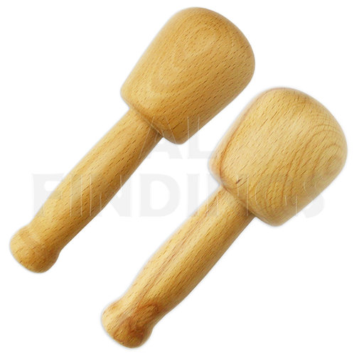 Jumbo 2pc Wood Dapping Punch Set : 70-55mm