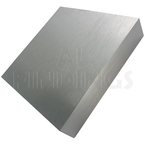 "6"" Solid Steel Doming Bench Block 150x150x18mm"