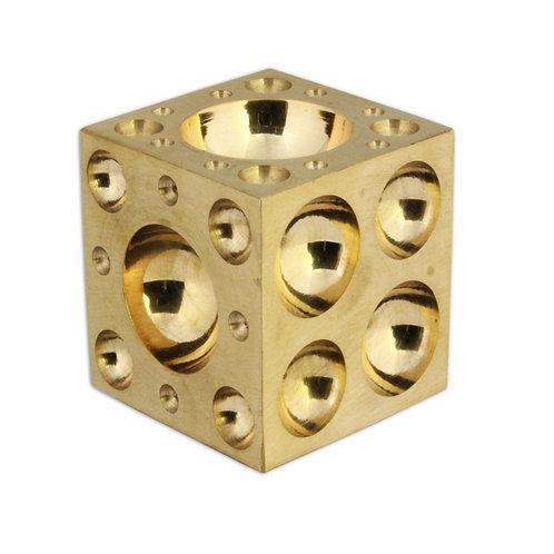 "Solid Brass Dapping Block 1""/ 25mm"