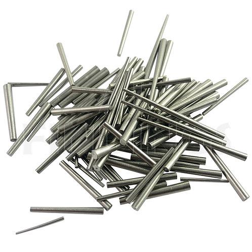 100x Clock Steel Taper Pins