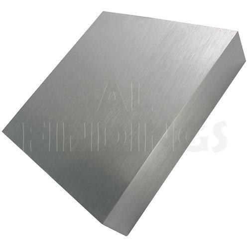 100x100x20mm Solid Steel Doming Bench Block Anvil