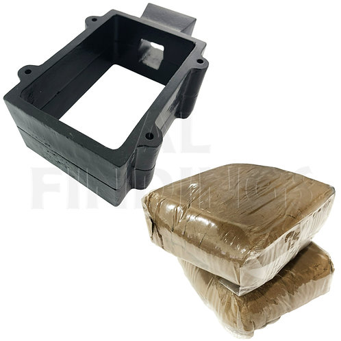 Sand Casting Flask with 2kg Silica Sand