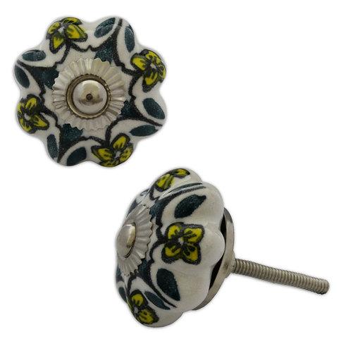 Ceramic Door Knob : Style 31