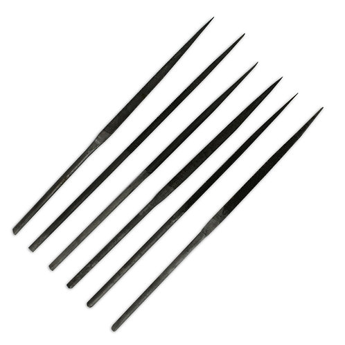 Set 6 Assorted Needle Files - 14cm