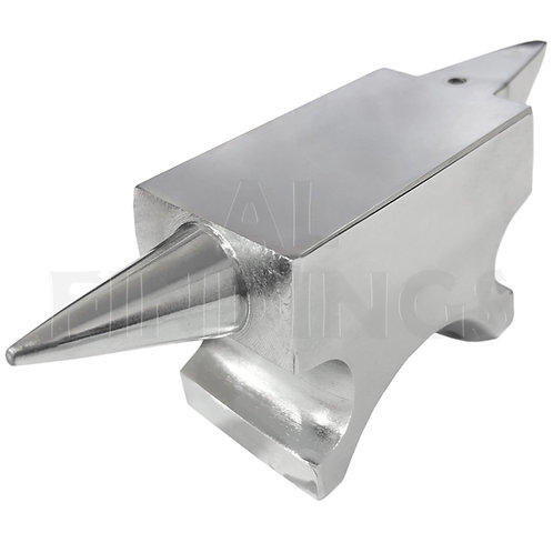 Double Ended Mirror Finished Horn Anvil