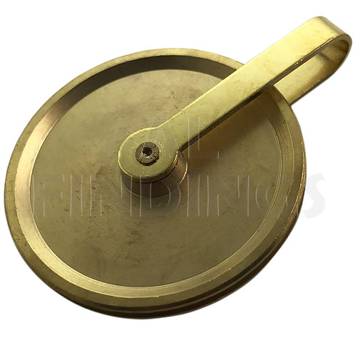 Grandfather Gut Pulley / Brass Longcase - 38mm