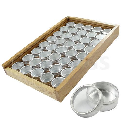 40 Container Storage Box (Wooden)