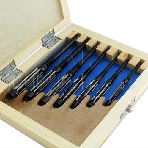 7 Piece Adjustable Hand Reamer Reamers Set Sizes 8/A 7/A 6/A 5/A 4/A 3/A to 2/A