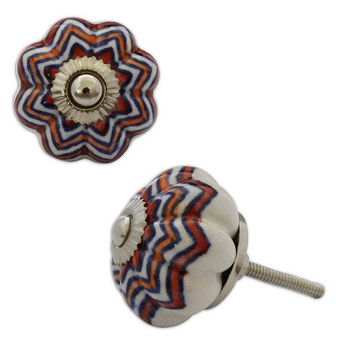 Ceramic Door Knob : Style 65