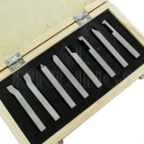 6mm Forming Lathe Turning Tool 8pcs Shank Metal Turning Lathes Tools