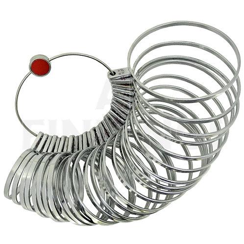 Bangle/ Bracelet Hand Wrist Metal Sizer Gauge 4-28