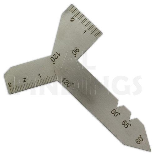 55/ 60/ 90/ 120° Universal Grinding Gauge